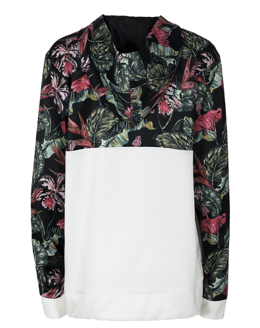 Local Pink Floral Contrast Ladies Jacket - Jackets, Women - Local-UAE