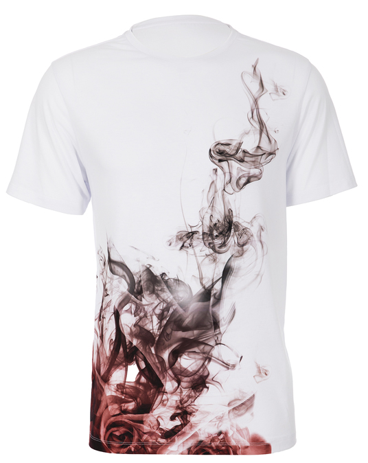 Local Rose Smoke Tee - Men, T-shirts - Local-UAE