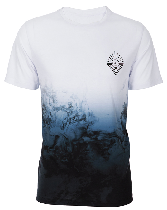 Local Deep Blue Smoke Tee - Men, T-shirts - Local-UAE