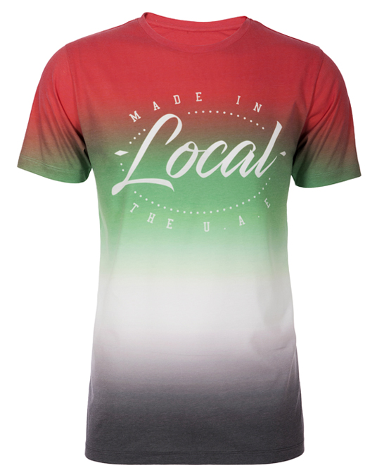 Local UAE Colour Fade Tee - Men, T-shirts - Local-UAE