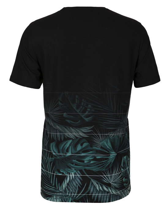 Local Green Leaf Fade - Men, T-shirts - Local-UAE