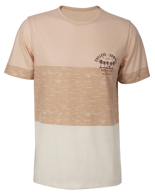 Local Contrast Sand Tee - Men, T-shirts - Local-UAE