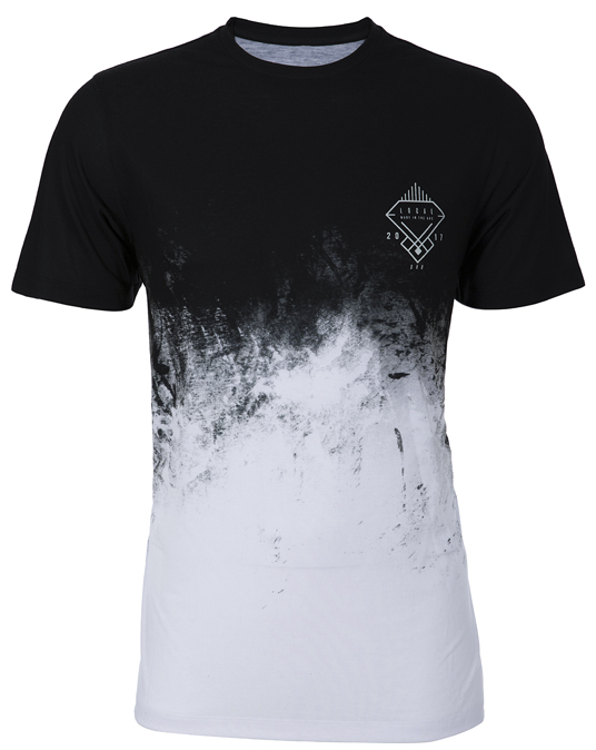 Local Black Smog Tee - Men, T-shirts - Local-UAE