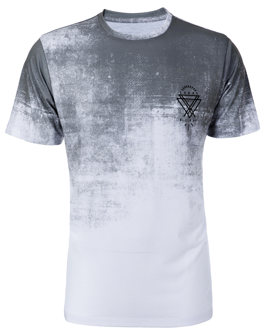 Local Grey Smog Tee - Men, T-shirts - Local-UAE