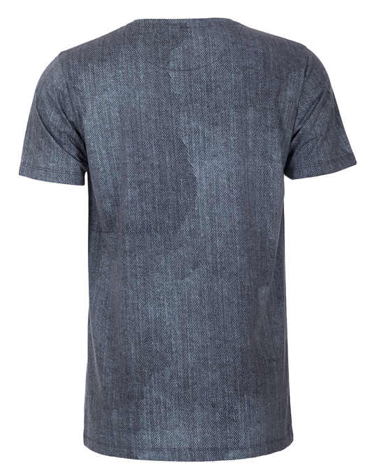 Local Denim Effect Tee - Men, T-shirts - Local-UAE