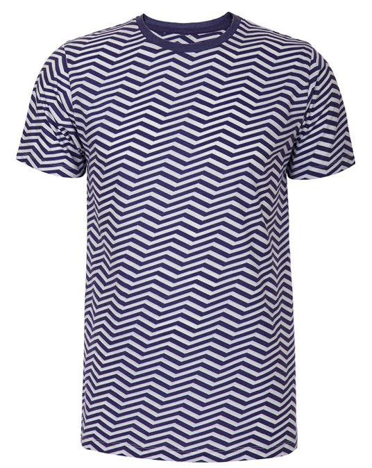 Local Zig Zag Tee - Men, T-shirts - Local-UAE