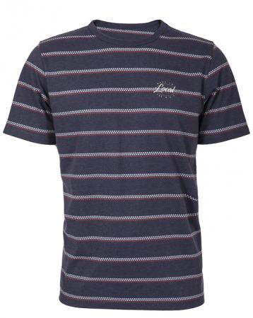 Local Dotted Stripe Tee - Men, T-shirts - Local-UAE