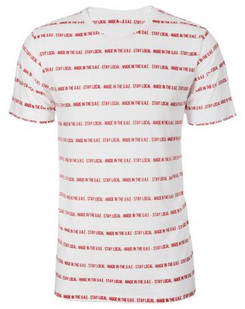 Bold Stay Local Tee - Men, T-shirts - Local-UAE